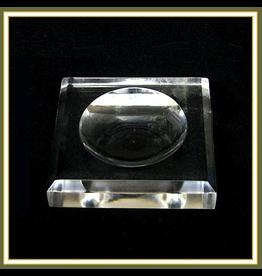 Kurt Adler Ornament Holder Clear Acrylic Base for 100mm Ball Ornaments