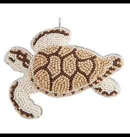 Gallerie II Bahamas Beaded Sea Turtle Ornament ORN71326 by Gallerie II Christmas