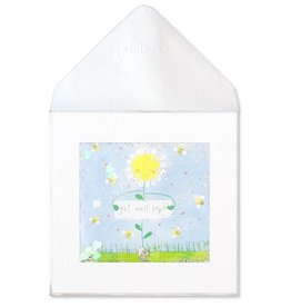 PAPYRUS® Get Well Card Daisy Holding Sign Get Well Soon