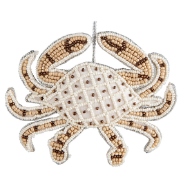 Gallerie II Bahamas Beaded Crab Ornament ORN71329 by Gallerie II Christmas
