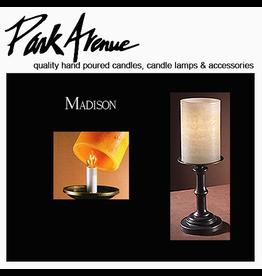 Park Avenue Candles Lamps Bases   Madison 10.75H