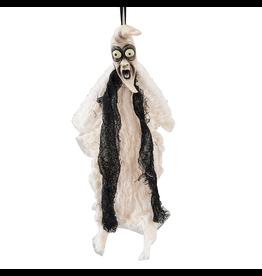 Gallerie II Joe Spencer Joe Spencer Halloween Ornament Moon Face Ghost 6 Inch