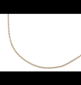 Alchemia Charles Albert Jewelry 2mm Gold-Tone Chain