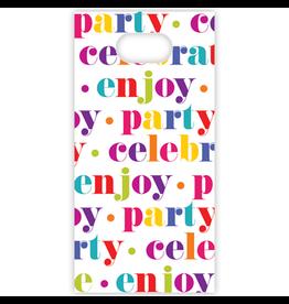 Caspari Party Favor Gift Bags 8pk Party Celebrate Enjoy Favor Bags
