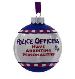 Kurt Adler Ornament Police Officers Have Arresting Personalities