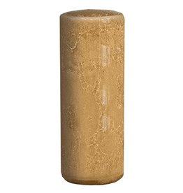 Kalalou Ceramic Bud Vase 8H inch Amber