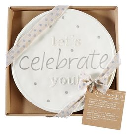 Mud Pie Lets Celebrate You Plate For Lifes Special Occassions