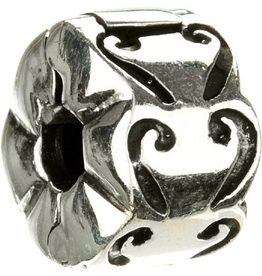 Chamilia Lock Sterling Silver MB-24 Scrolled