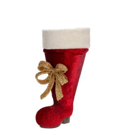 Mark Roberts Christmas Decorations Large Santa Boot w Liner 26 inch
