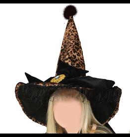 Gallerie II Halloween Witch Hat Leopard HAT70570 Halloween Costumes