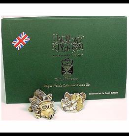 Harmony Kingdom Treasure Jest Royal Watch Collector Club Kit 2005
