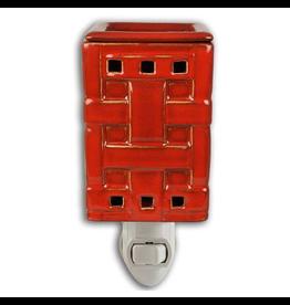 Boulevard Wax Melts Fragrance Warmer Plug-In Red Woven