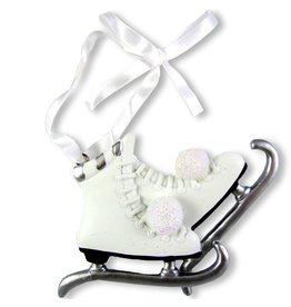 Kurt Adler Ice Skates Christmas Ornament