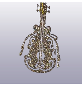 Katherine's Collection Musical Instrument Christmas Ornament Gift Tie Violen