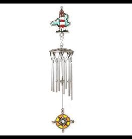 Karas Creations Windchimes Lighthouse 13 Inch Mini Wind-chime
