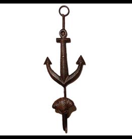 Kalalou Cast Iron Anchor Wall Hook