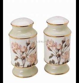 Artis Orbis Smithsonian Collection White Rose Salt Pepper Shakers