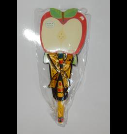Teacher Apple Sticky Notes Pad w Pen Set