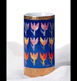 Artis Orbis Tulips Vase by Mara - Porcelain - 8H inches