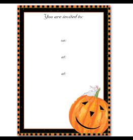 Caspari Halloween Party Invitations Halloween Harry Invites 8pk