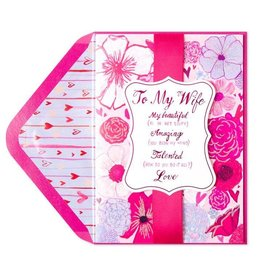 PAPYRUS® Valentine's Day Cards For Wife Beautiful Amazing Talented