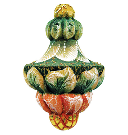 DeBrekht Artistic Studios Fanciful Drop Ornament 2.5 Inch
