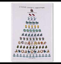 Peking Handicraft Holiday Flour Sack Kitchen Tea Towel A Movie Lovers Christmas 12 Days