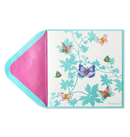 PAPYRUS® Get Well Card Butterflies on Vine by Papyrus