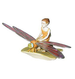 Isle Of Gramarye The Messenger Boy Fairy Riding Dragonfly
