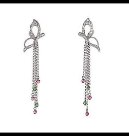 Annaleece Earrings Awakening Butterfly w Crystals 4121