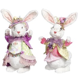 Mark Roberts Fairies Easter Bunnies Sweet And Fluffy Bunny Rabbits Mr Mrs 15 Inch