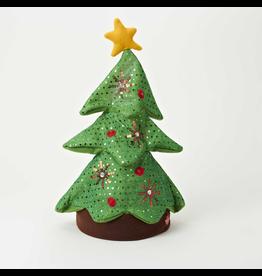 Kurt Adler Animated Musical Singing Rocking Christmas Tree Hat