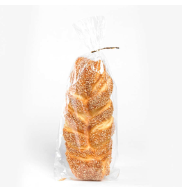 K&K Interiors Fake Display Food Sesame Seed Twisted Bread 10in.
