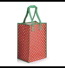 Burton and Burton Gift Bag Christmas 9713901-R Poly Nylon Red Tote