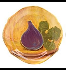Vietri Dinnerware TFR-4301-D Eggplant Fruit Salad Plate