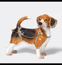 Department 56 Jeweled Beagle Dog Box