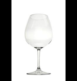 Caspari Acrylic Wine Glass 22oz Clear Shatter Resistant BPA Free