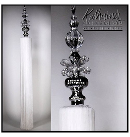 Katherine's Collection Tassels Large Decorative Tassel 40 inches White