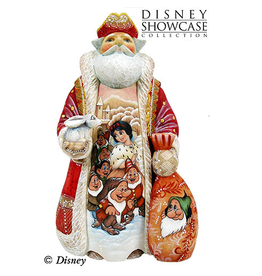 DeBrekht Artistic Studios Snow White and  Friends Santa. 72321