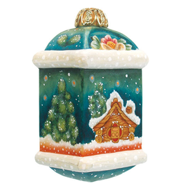DeBrekht Artistic Studios Little Cottage Small Ornament 4 Inch