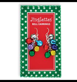 DM Merchandising Christmas Jingle Bell Earrings - A