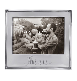 Mariposa Photo Frame Engraved w This Is Us - for 5x7 Photo