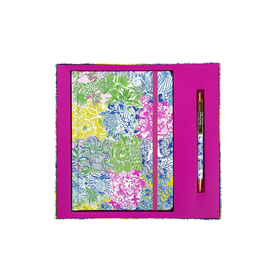 Lilly Pulitzer® Journal With Pen - Cheek To Cheek