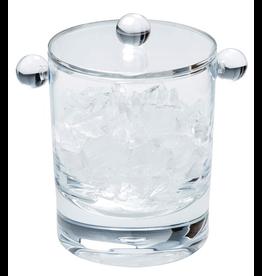 Caspari Lucite Acrylic Ice Bucket 60oz Clear