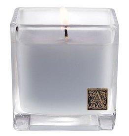 Aromatique Viola Driftwood Cube Candle Glass 12oz 19-159