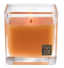 Aromatique Valencia Orange Cube Candle Glass 12oz 05-250