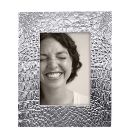 Mariposa Croc Photo Frame for 5x7 Photo Textured Crocodile Skin Pattern