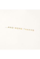 PAPYRUS® Thank You Card Ton Of Thanks