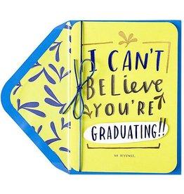 PAPYRUS® Graduation Cards I Cant Believe It