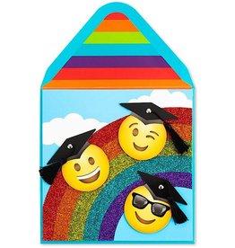 PAPYRUS® Graduation Cards Exultant Emojis Grads
